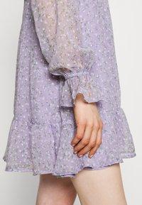 Hollister Co. - SHORT DRESS - Kjole - lavender - 5