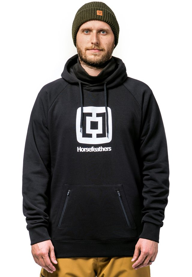 SHERMAN - Sweat à capuche - black