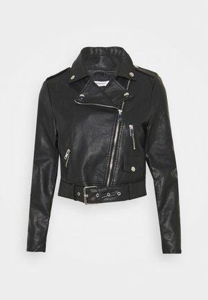 CROPPED JACKET - Winter jacket - black