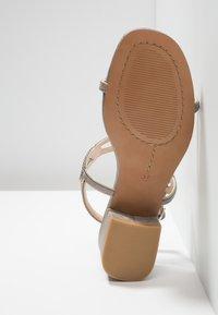Alma en Pena - Højhælede sandaletter / Højhælede sandaler - oporto pewter - 6