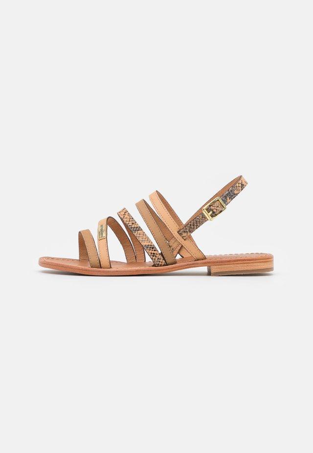 HANSEL - Sandals - beige/multicolor