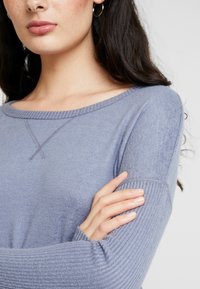 Abercrombie & Fitch - LONG SLEEVE COZY - Jumper - blue - 5