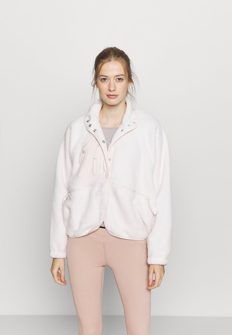 Free People - HIT THE SLOPES JACKET - Fleece jacket - ivory