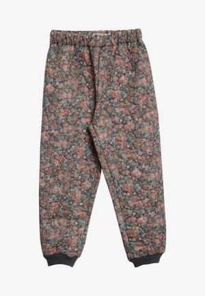 ALEX - Tracksuit bottoms - dusty rouge flowers