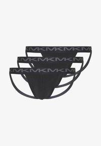 Michael Kors - 3 PACK - Kalhotky - black - 0