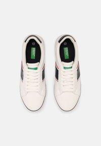 Benetton - CRISPY - Sneakers basse - white/navy - 3