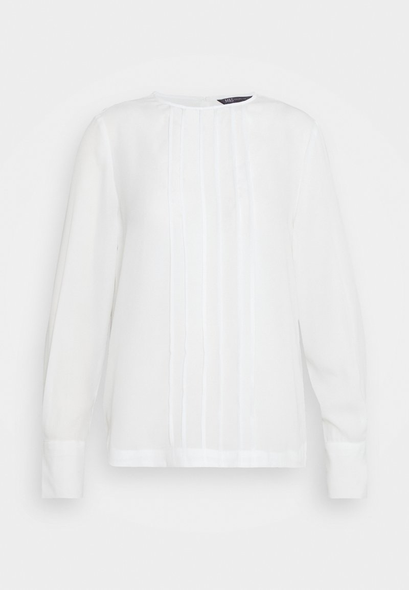 Marks & Spencer London - TOPSTITCH  - Long sleeved top - off-white