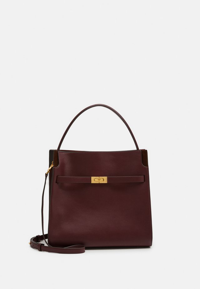 LEE RADZIWILL DOUBLE BAG - Handbag - claret
