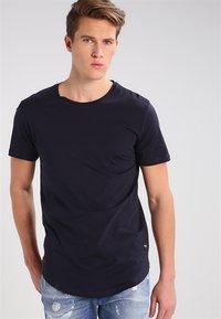 Only & Sons - ONSMATT - T-shirt - bas - dark navy - 0