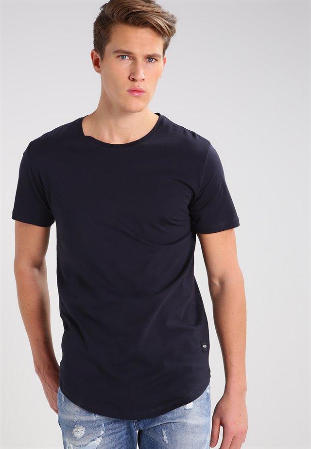 ONSMATT LIFE LONGY TEE - Basic T-shirt - dark navy