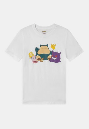 LEVIS POKEMON GRAPHIC UNISEX - Triko s potiskem - white