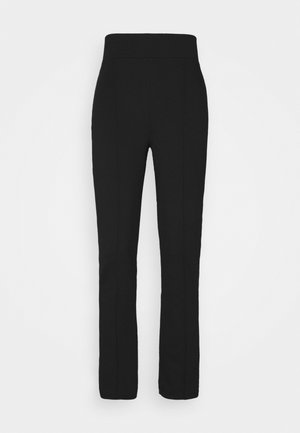 Punto Trouser with Seam Detail - Leggings - Trousers - black