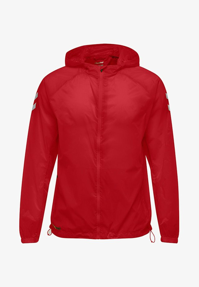 TECH MOVE FUNCTIONAL LIGHT WEIGHT - Waterproof jacket - true red