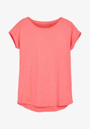 Basic T-shirt - mottled pink