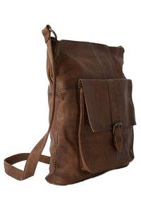 RE:DESIGNED - JINN - Across body bag - walnut - 2