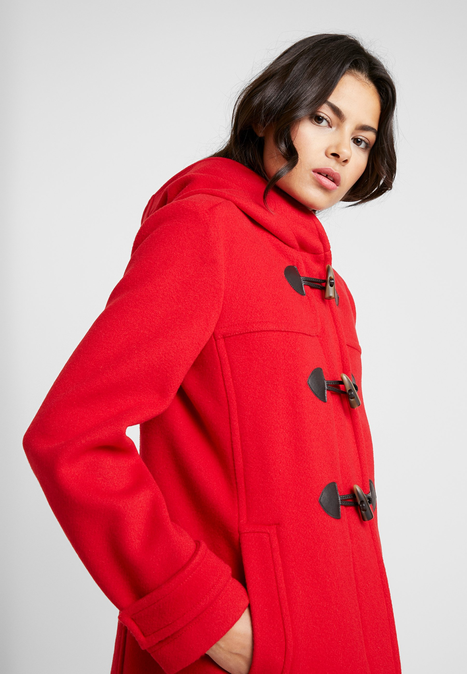 Benetton MIX DUFFLE COAT Lett jakke red Zalando.no