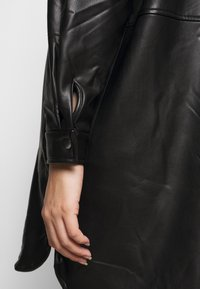 Kaffe Curve - VIMA SHIRT - Button-down blouse - black - 5