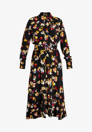 ERA DRESS - Skjortekjole - black