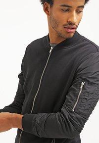 YOURTURN - Zip-up hoodie - black - 3