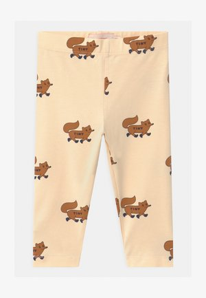 FOXES - Leggings - Trousers - cream/brown
