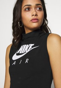 Nike Sportswear - AIR TANK MOCK - Top - black/white