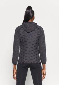Regatta - PEMBLE II HYBRID - Fleece jacket - ash/black - 2