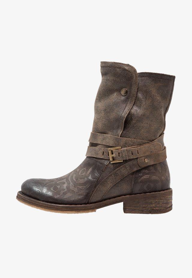 COOPER - Cowboy/Biker boots - targoff/noumerat/new stone/tobacco