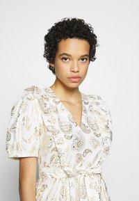 Résumé - TENDORA DRESS - Maxi dress - white - 3