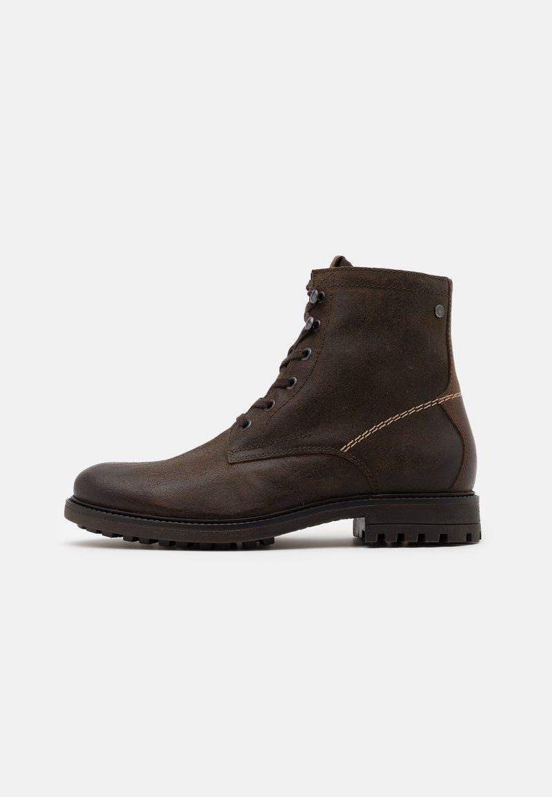 Jack & Jones - JFWBALLARD VINTAGE - Lace-up ankle boots - beluga