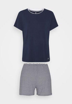 SHORTY O NECK SET - Pyjamas - blue/medium