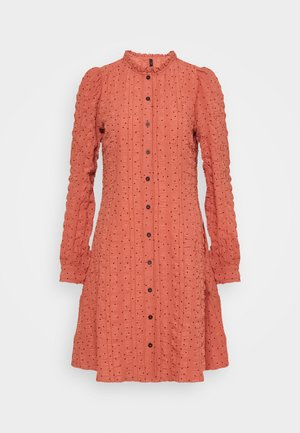 YASAUDRIANA SHIRT DRESS - Shirt dress - canyon sunset/black