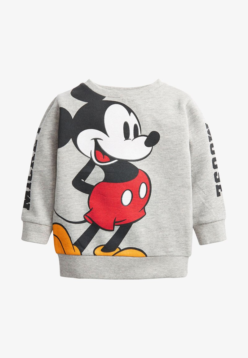 Next - MICKEY MOUSE JERSEY CREW NECK SWEATER - Maglione - grey