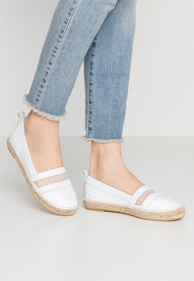 Espadrilles - white