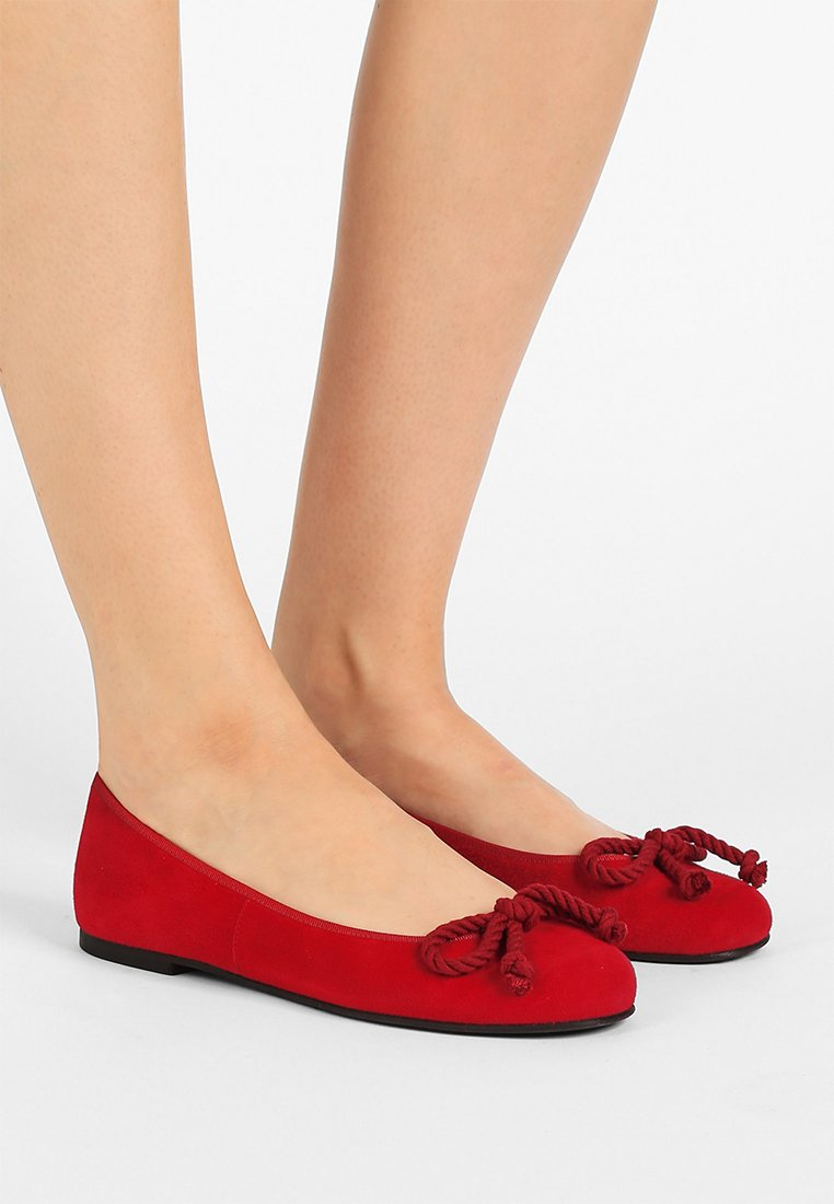 Pretty Ballerinas - ANGELIS - Baleriny - red