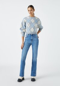 PULL&BEAR - Jeans a sigaretta - blue - 1