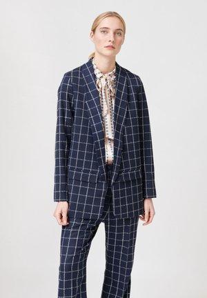 Krótki płaszcz - blue