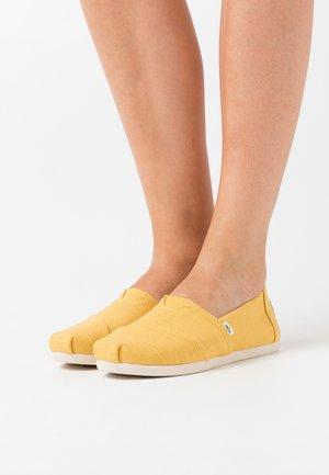 ALPARGATA - Półbuty wsuwane - yellow