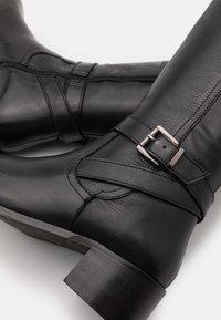 Dune London - TESLEY - Kozačky nad kolena - black - 4