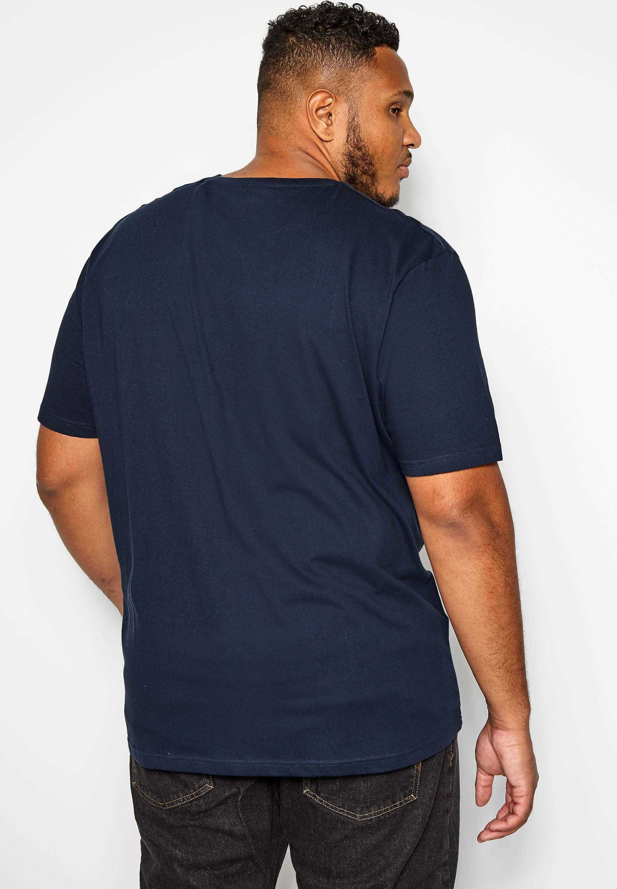BadRhino Print T-shirt - blue e2I1a