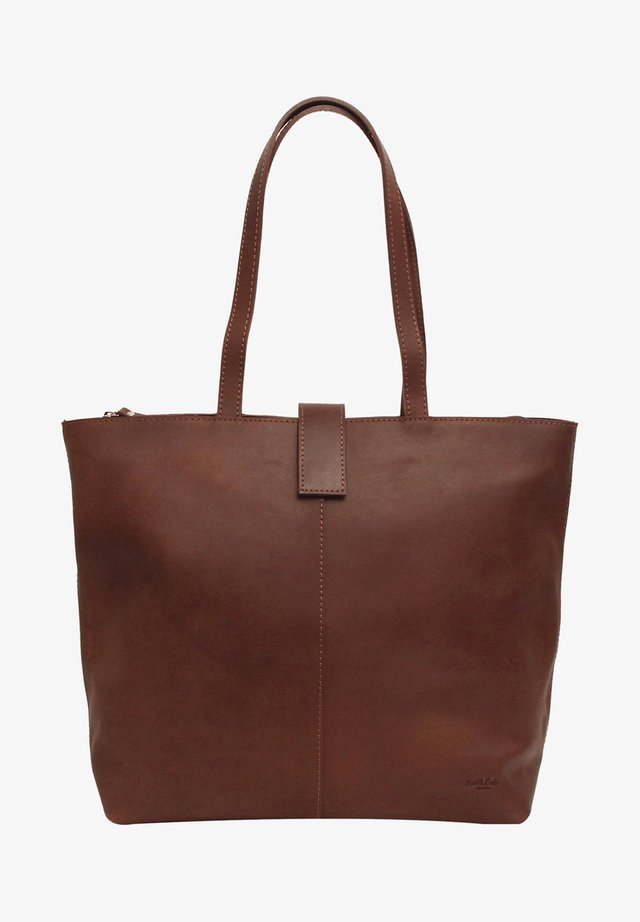 Shopper - brown