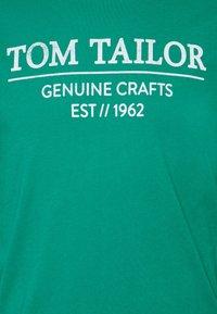 TOM TAILOR - Print T-shirt - new porcelain green - 6