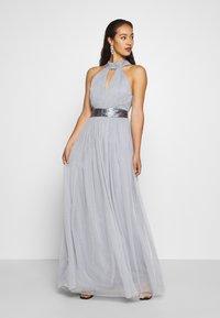 TFNC - ULA - Společenské šaty - grey blue - 0