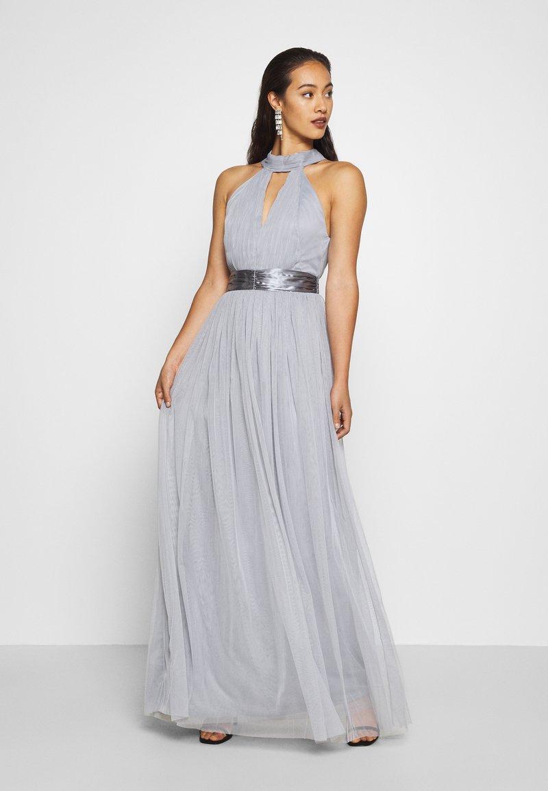 TFNC - ULA - Společenské šaty - grey blue