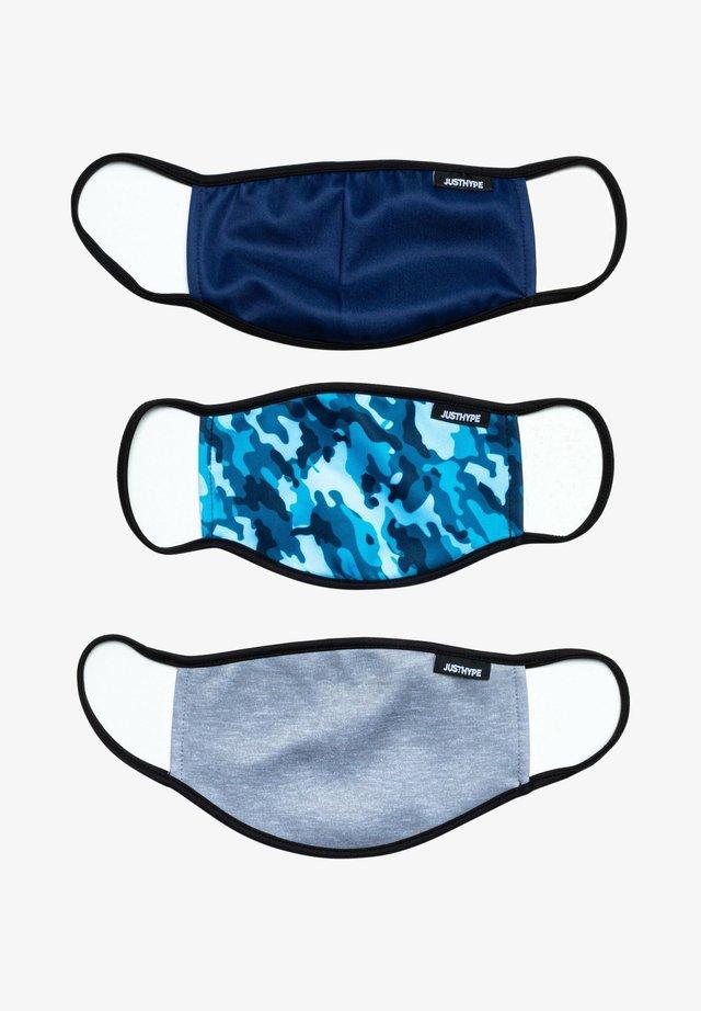 3 PACK - Masque en tissu - blue