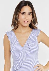 LASCANA - Swimsuit - blue/white - 3
