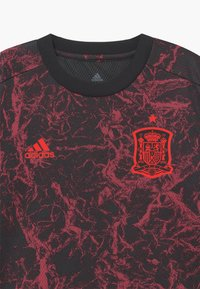adidas Performance - FEF SPANIEN PRESHI Y - Sports shirt - black - 3