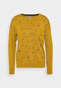 edc by Esprit - EMBRO - Jersey de punto - brass yellow - 3