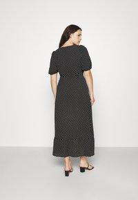 Vero Moda Curve - VMSAGA WRAP ANKLE DRESS - Maxi dress - black - 2