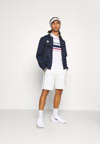 Lacoste Sport - TENNIS JACKET  - Träningsjacka - navy blue/white - 1