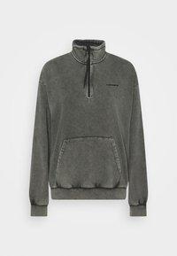 Carhartt WIP - MOSBY SCRIPT HIGHNECK - Sweatshirt - black - 4